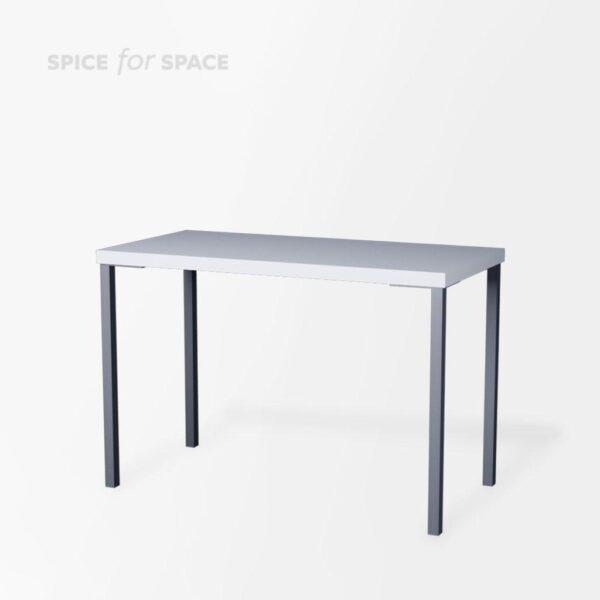 stół bufetowy Opti biały 140x70 na wynajem
