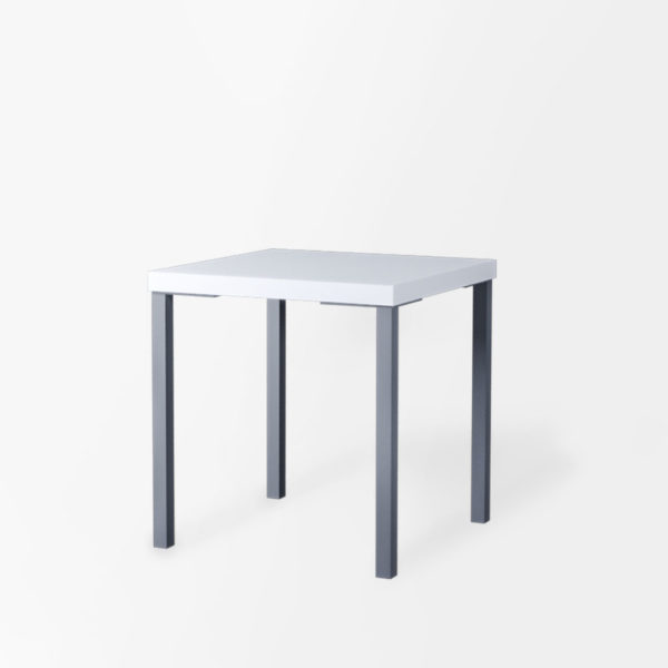 stolik opti 70x70 biały na wynajem