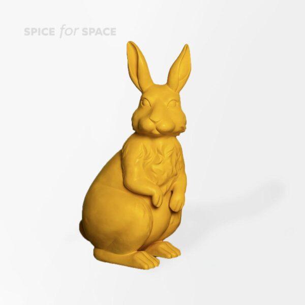 Figura żółtego zająca na wynajem