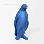 Figura pingwina na wynajem w kolorze niebieskim