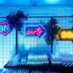 neony 90s bar i party
