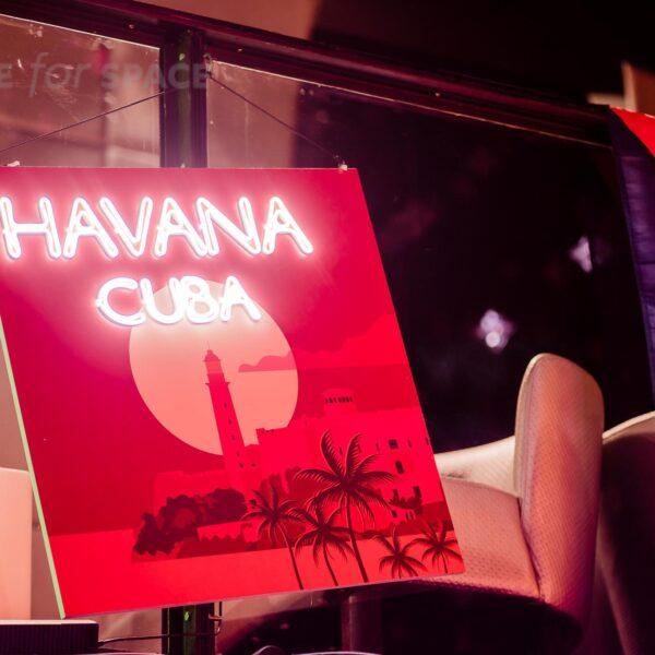 Neon kubański HAVANA CUBA