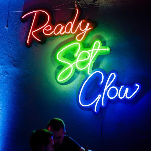 neon ready set glow